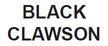 Black CLAWSON
