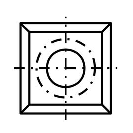 Tigra 13.6х13.6х2 T08MF